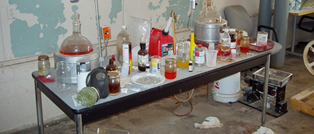 meth lab testing perth